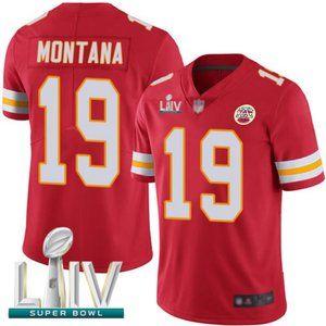 Youth Chiefs Joe Montana Super Bowl LIV Jersey